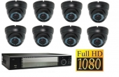 Set FullHD: Recorder + 8x FullHD IP Camera