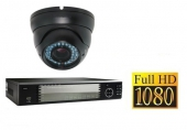 Set FullHD: Recorder + 1x FullHD IP Camera