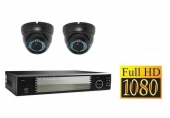 Set FullHD: Recorder + 2x FullHD IP Camera
